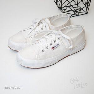 Superga Classic White Sneakers